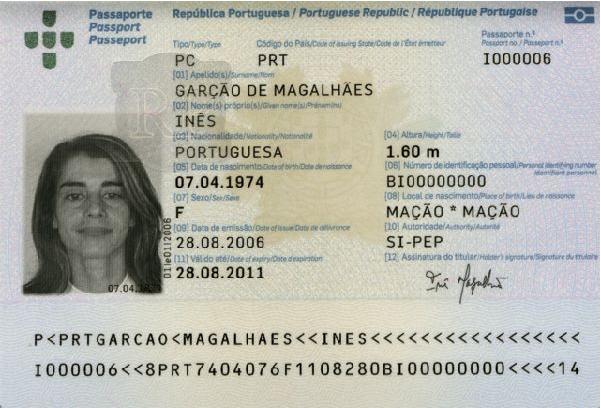 portugiesischer pass